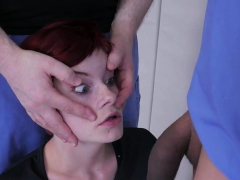 Unusual Cutie Is Taken In Anal Assylum For Painful Treatment