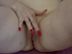 Unique Mature Self-masturbation