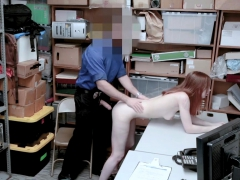 Stealing Teen Finally Caught And Fucked By Security