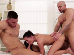 Muscular Jock Assfucked During Mmf Threeway