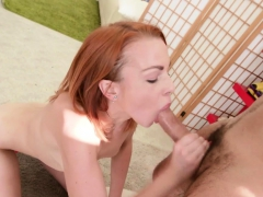 redhead-sucks-a-cock-and-takes-it-in-her-twat