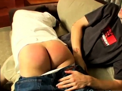 Spankings Boys On Gay Raven Gets A Red Raw Butt