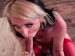 Chad And Tgirl Chloe Trades Blowjob