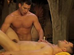 Gay massage creampie