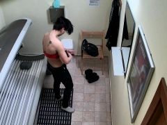 kinky short haired slut on hidden camera – teen porn
