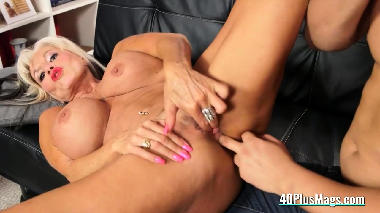 French Mature Anal Creampie