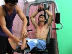 Asian Boy Argie Bound And Tickled