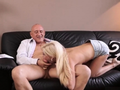 Two Teens Share Old Neighbors Cock And Cum For Me Daddy