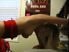 Blonde Teen Quick Fuck