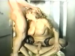Rough Threesome With Milf