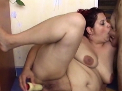 Daniele Plays With Herself While Taking The Cock
