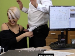 Attractive Milf Does Anything For The Loan She Wants