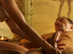 Massage For A Big Body And A Big Cock