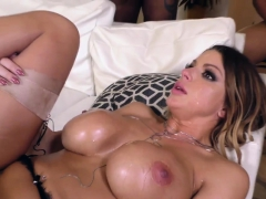 Busty Babe Rides Big Cock