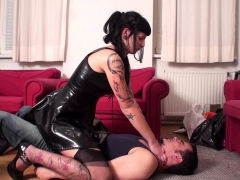 Young Goddesses Dominate Slaves