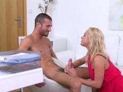 Italian Pornstar Casting And Cumshot
