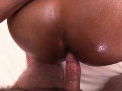 Big Ass Ladyboy Oil Massage Bareback