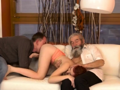 Old Gang Bang And Mom Anal Creampie Unexpected Experience