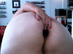 redhead-bbw-puts-in-her-giant-ass-big-dildo