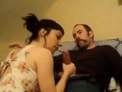 Husband's Big Cock Fucking His Wife