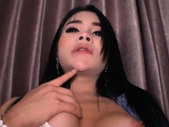 Teen Ladyboy With Big Tits Bareback Fuck By A Big Dick
