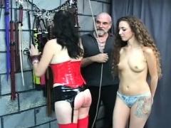latex strapon amatör porr film