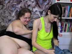 oldnanny-old-and-young-lesbians-toying
