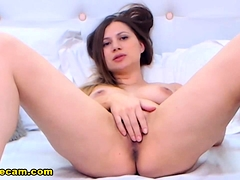 hot-brunette-having-cute-and-nasty-on-her-live-show