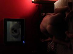 Tied Up Girlfriend Fucked Hard On Hidden Camera Porn Video