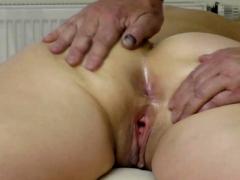 wifes monster butt massage, finger in asshole