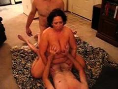 let horny massive boobs wife gangbang