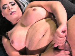 curvy-tgirl-babe-cums-after-tugging