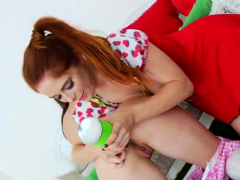 randy lesbians fill up their monster fannys with milk76ybe