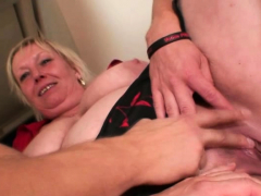 very old big titted granma pleases two boys bitch