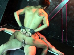 submissive-nude-hunk-gets-ass-fucked-in-suspension