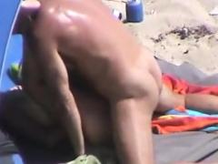 sexy nudist slut tanning naked nude beach voyeur