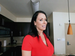 reagans milf snatch fucked by rock hard penis from behind