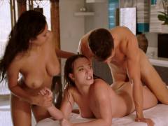 vixen-two-busty-and-curvy-babes-get-oiled-and-fuck-huge-cock