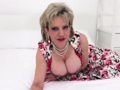 Unfaithful British Mature Lady Sonia Exposes Her Big 17ers