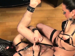 Bdsm tgirl mistress cums