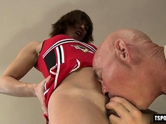 Hot Transsexual Fetish With Cumshot
