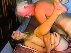 grandpa gets himself some fresh young muffin to fuck