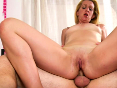 blonde takes a monster dick into her vagina