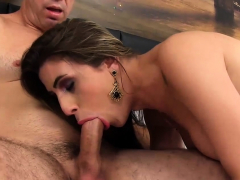 Shemale Stefany Queen Pounded by a Guy