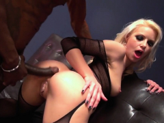 Blonde Chick Wants A Black Cock