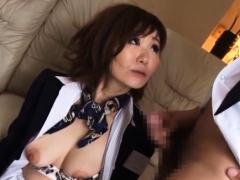 Passionate bombshell Sayuri Kinsei enjoys deep fuck