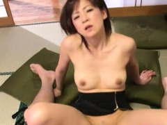 Breathtaking older hardcore action with a japanese playgirl