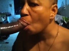 Constance Takes Big Cocks and Black Cocks at Gloryhole