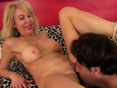 GILF Erica Lauren Enjoys a Long Cock