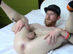 Anal fisting guide and white boy getting fisted by young